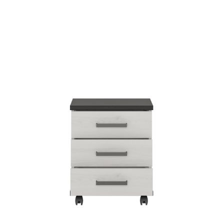 Provence 3 drawer mobile cabinet